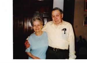 Grandma and Grandpa Long--still two of my favorite people who ever walked this planet!
