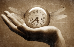 So it's hard to find a clock image with 4:57 on it.  I found this cool one courtesy of momastry.com